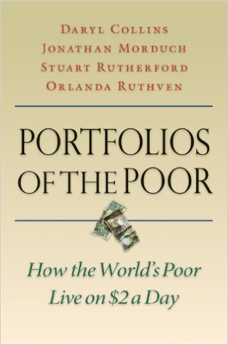 "Tibits I learnt from ""Portfolios of the Poor"""