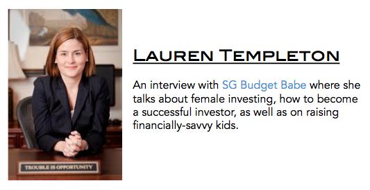Women In Investing – Interviewing Lauren Templeton