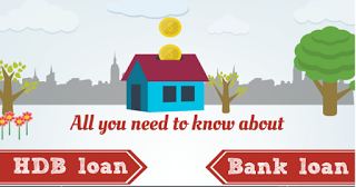 Infographic – All You Need To Know About HDB Loan And Bank Loan (Guest Post)