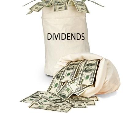 Dividend income for Feb 2017