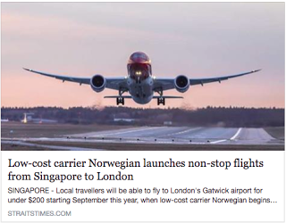 Fly to London for $400+ (all inclusive) on Norwegian Air!