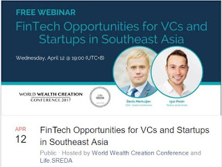 Free Webiner – Fintech Oppotunities For VCs and Startups in Southeast Asia