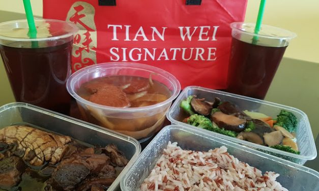 Tian Wei confinement meal review – Excellent variety!
