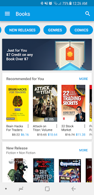 free google play 7 credit for book thefinance sg
