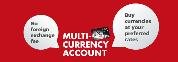 DBS Multi-Currency Account