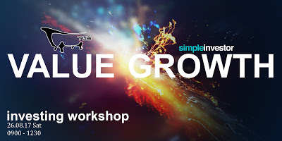 Our 1st Value/Growth Investing Workshop