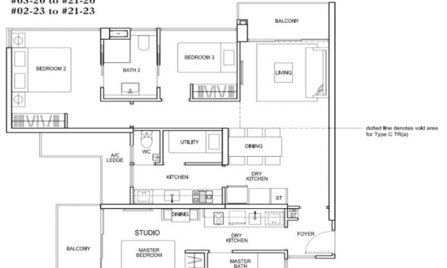 2 properties for the price of 1 with dual key units