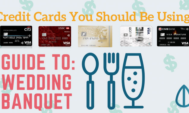 Save Money On Your Wedding Banquet: Credit Cards You Should be Using!