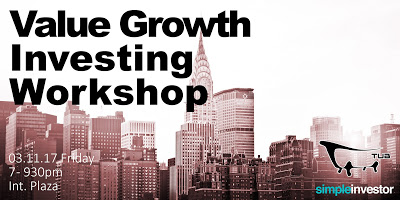 Our 2nd Value/Growth Investing Workshop