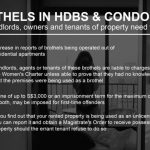 Brothels in HDBs and Condominiums – You May Be Liable!
