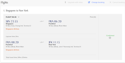 Redeeming KrisFlyer Miles for Singapore Airlines Suites = 38.6% Cashback!
