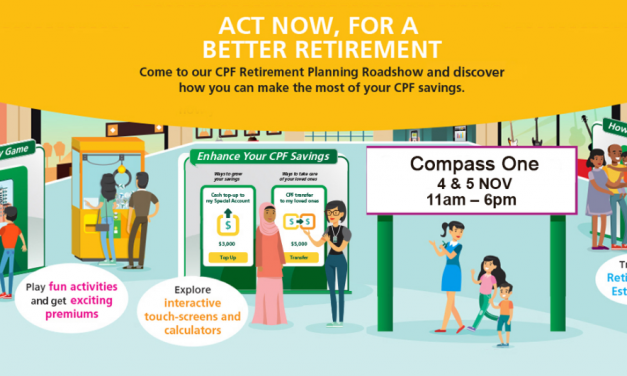 CPF Retirement Planning Roadshow Comes to Seng Kang this Weekend