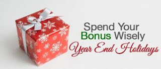How To Spend Your Year End Bonus ?