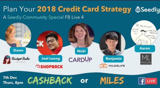 Cashback vs Miles Cards – Why I'm on Team Cashback
