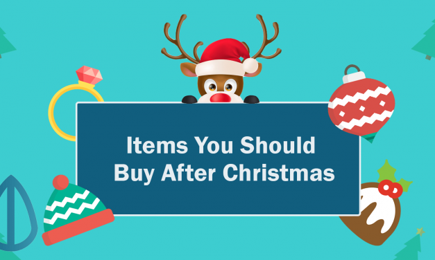 4 Items You Should Be Buying After Christmas!