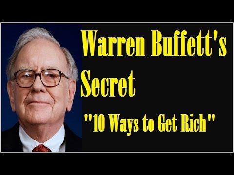 Warren Buffett's 10 Ways to Get Rich