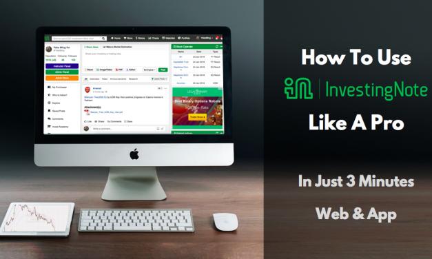InvestingNote Platform and App Tutorial