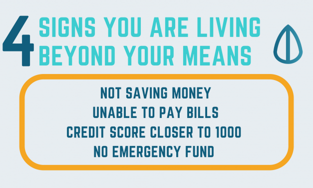 4 Ways To Know You Are Living Beyond Your Means