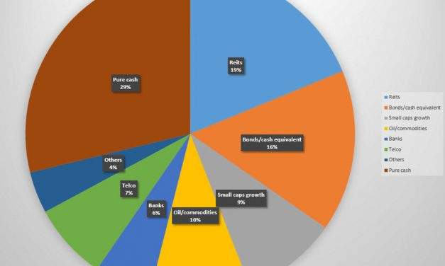 Portfolio sector breakdown