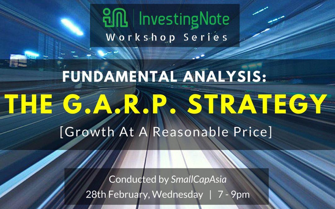 InvestingNote Workshop Series: Growth Investing Workshop