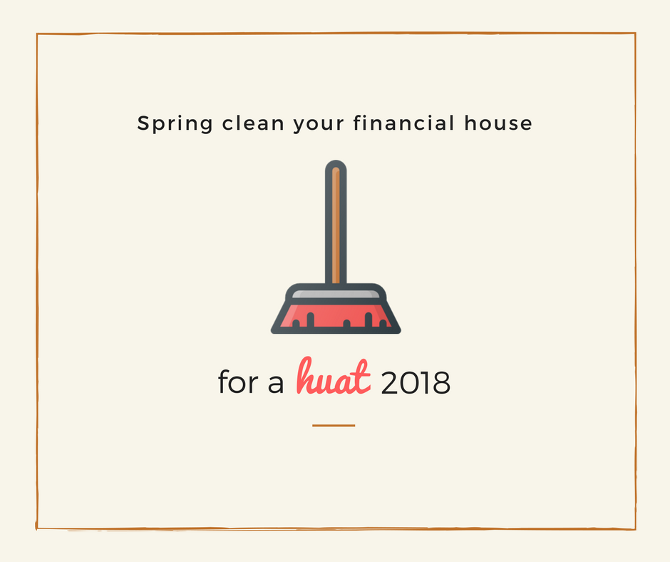 Fancy A Spring Clean For Your Financial House