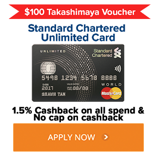 Unlimited 1.5% Cash Back And Up To $220 Cash And Vouchers Giveaway For This Credit Card