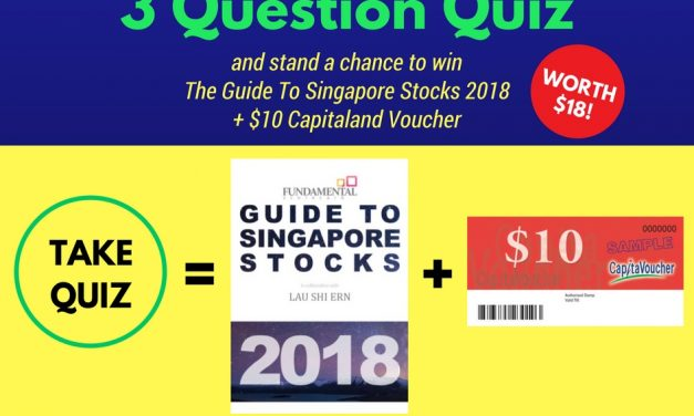 *Giveaway: Win The Guide To Sg Stocks 2018 + $10 Capitaland Voucher