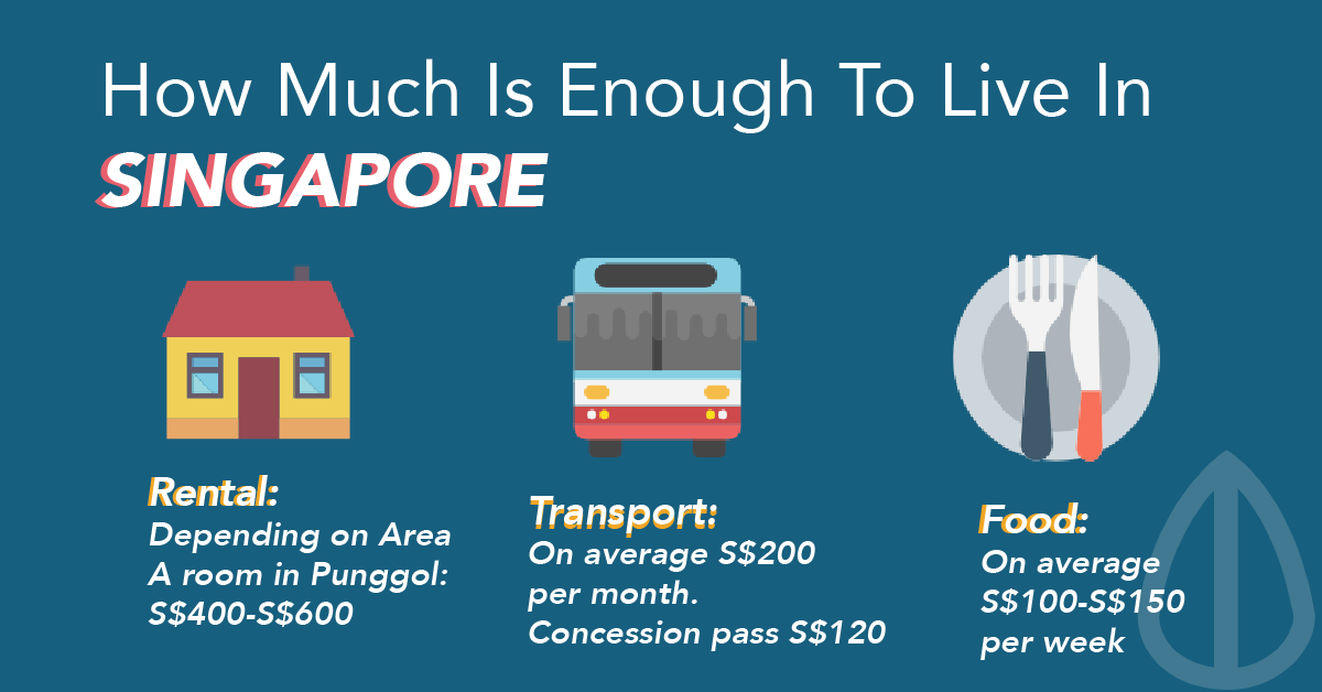 Guide For Expats In Singapore How Much Is Enough To Live
