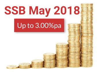 Singapore Savings Bonds Apr 2018 – Up to 3.00%pa Interest