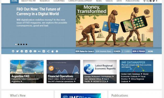 Interesting IMF Homepage