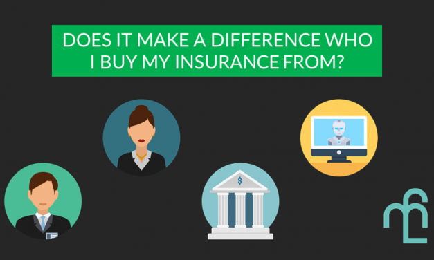 I Already Know Which Insurance Policy I Want. Is There A Difference Who I Buy It From?