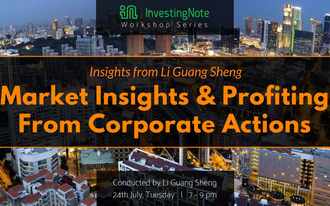 Upcoming Workshop: Market Insights and Profiting From Corporate Actions