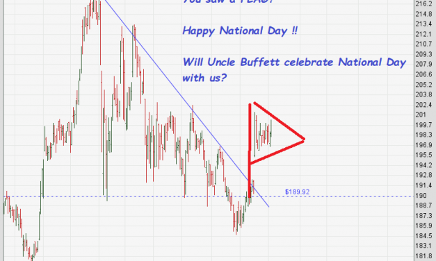 Berkshire Hathaway Inc – Will Uncle Buffett celebrate National Day with us?