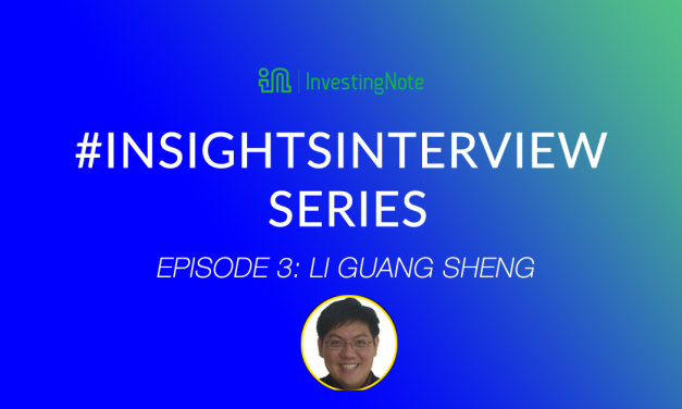 #InsightsInterview with Li Guang Sheng, Top Tier Remisier