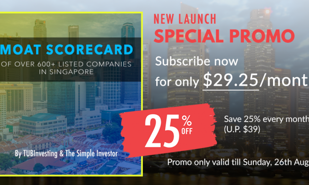 New Service Launch For Investors: Moat Scorecard!