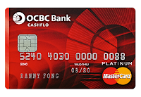 The Credit Card Rebate Shootout – Part 2 – Big Ticket Items & Large Spendings / Benefits of Installment with OCBC Cashflo over Lump Sum