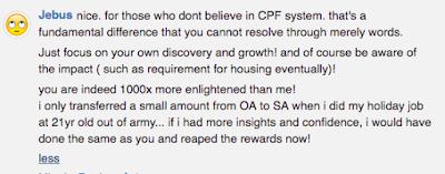 CPF OA-SA Transfer for Millenial.. BTO How?!