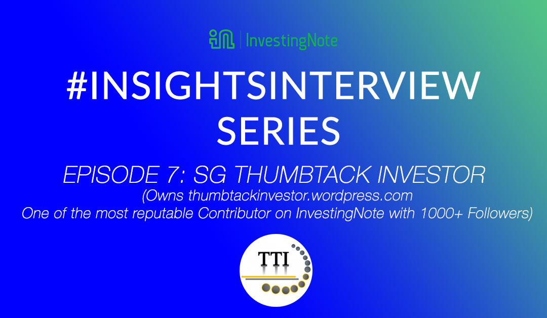 # InsightsInterview with ThumbTack Investor, one of the top contributor in InvestingNote