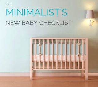 The Minimalistic Baby Essentials Checklist (for a first-time mother)