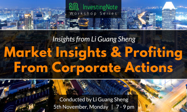 Upcoming in Our Workshop Series: Market Insights and Profiting From Corporate Actions