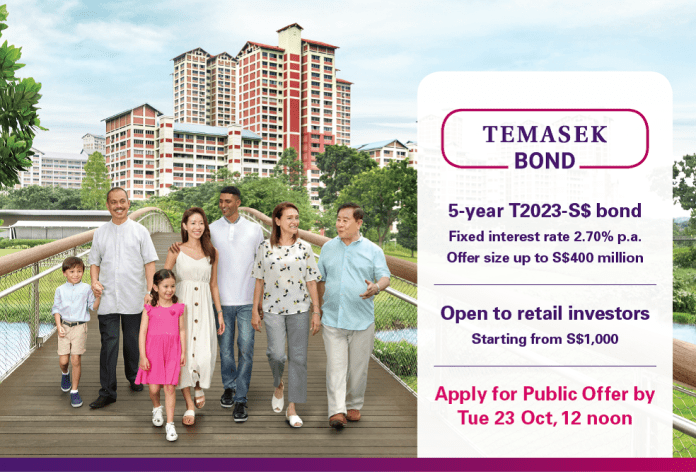 Temasek's T2023 five-year retail bonds: Are they a buy?