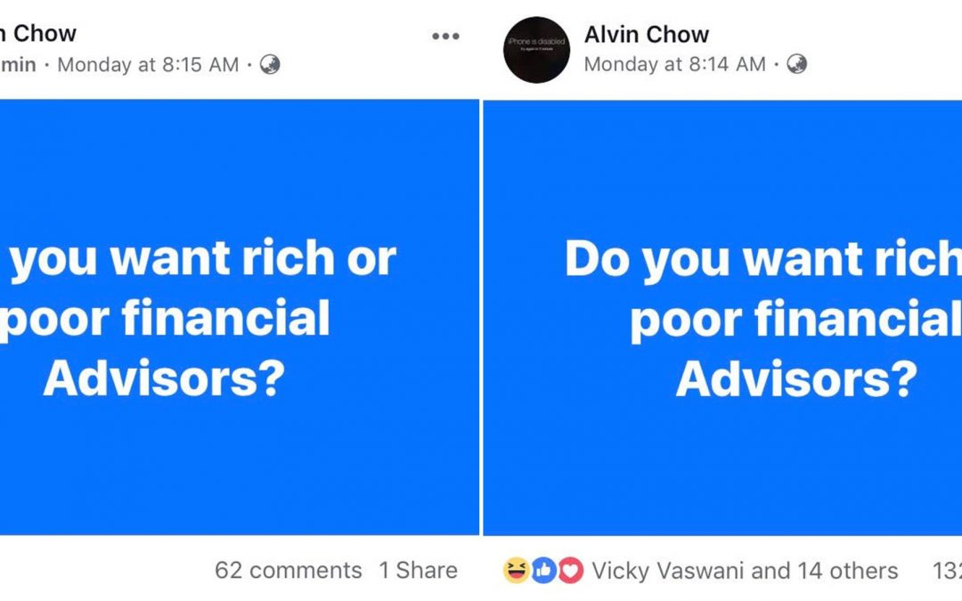 Do You Want Rich Or Poor Financial Advisors?