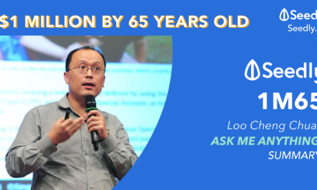 $1 Million By The Time You Are 65, In Your CPF Account. How To Achieve This?