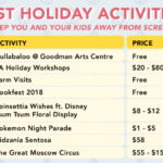 Best Holiday Programmes and Events for You and Your Kids (on a budget!)