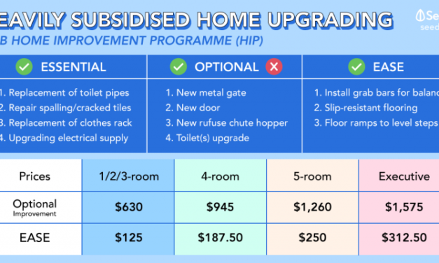 Heavily Subsidised Renovation To Upgrade Your HDB With Housing Improvement Programme (HIP)