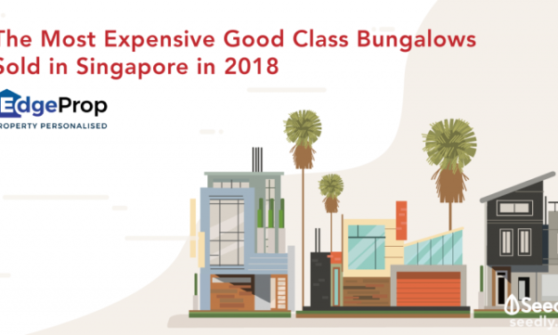 The Most Expensive Good Class Bungalows Sold in Singapore in 2018