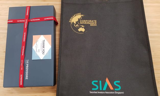 Festive Gift From Our Partner, Securities Investors Association Singapore (SIAS)!
