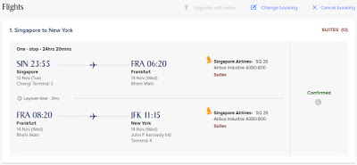 Singapore Airlines Suites – Book the Cook