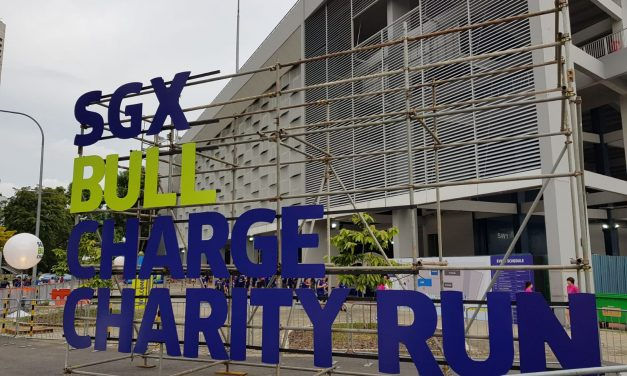 SGX Bull Charge Charity Run and Winner Prize Presentation