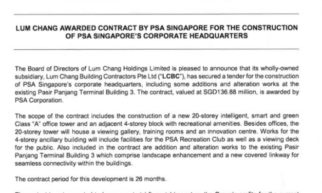 Would PSA Move out of Mapletree Commercial Trust's PSA Building in 2 Years Time?